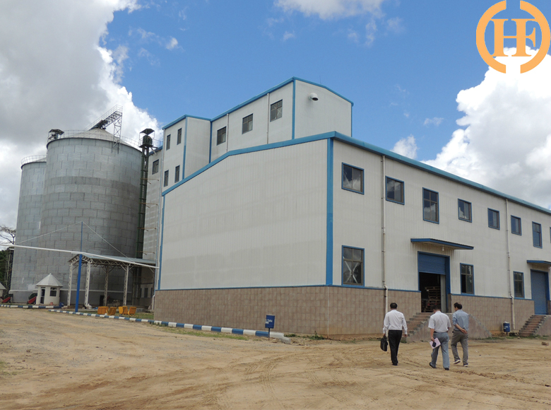 Zambia 150TPD Maize Mill