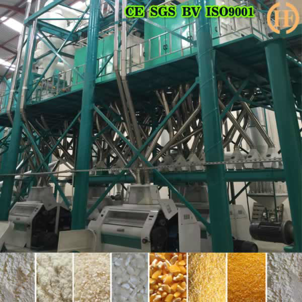 HDFM200 Maize milling machine