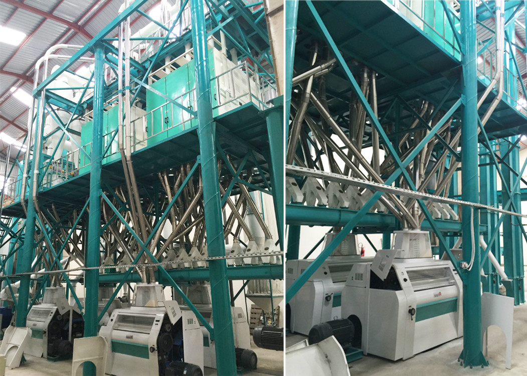 150T maize flour milling machine