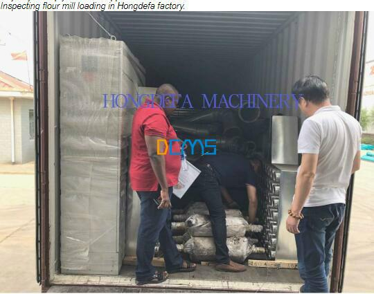 Loading 30T maize mill container to Kenya