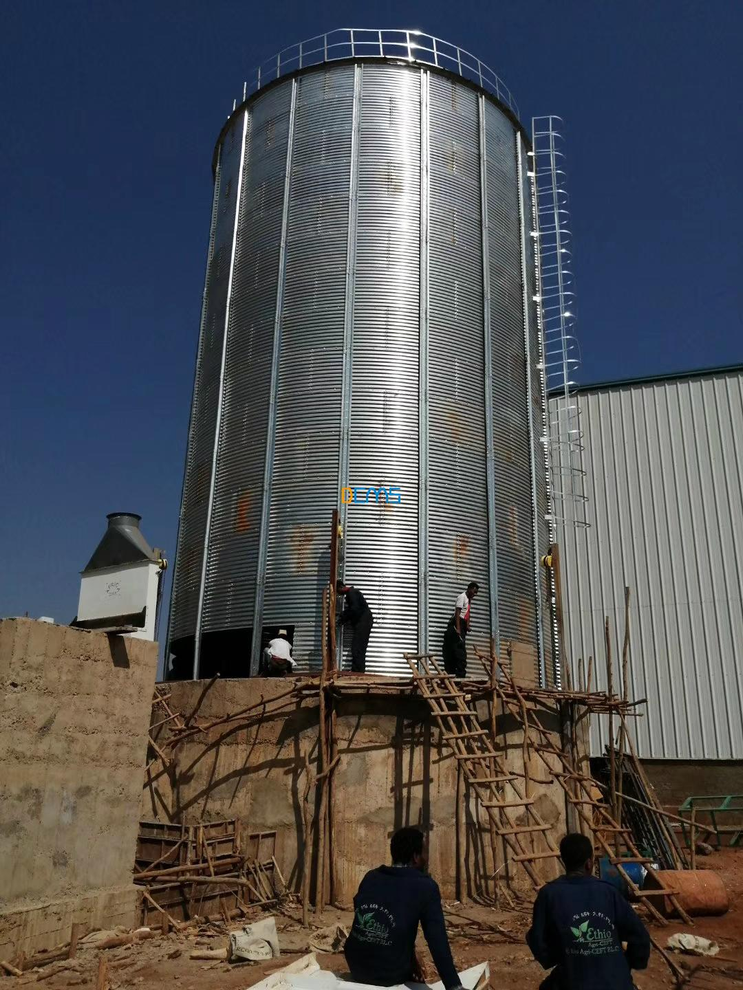 Congra:500Tsilo finish install in Ethiopia