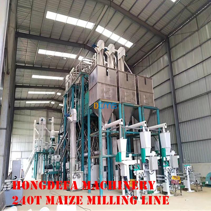 240t maize meal maize flour milling plant in Angola